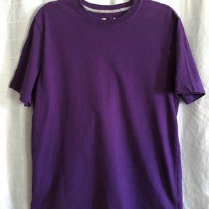 Xersion Short Sleeve Crew Neck Tee Purple